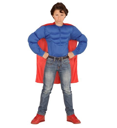 Superman Çocuk Kostümü ve Pelerini