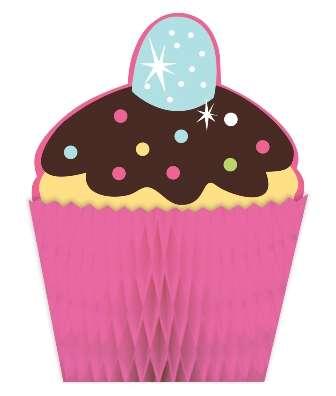 Tatlı Cupcake Masa Orta Süsü