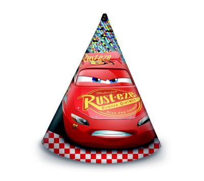 - The Cars 3 Şapka 6 Adet