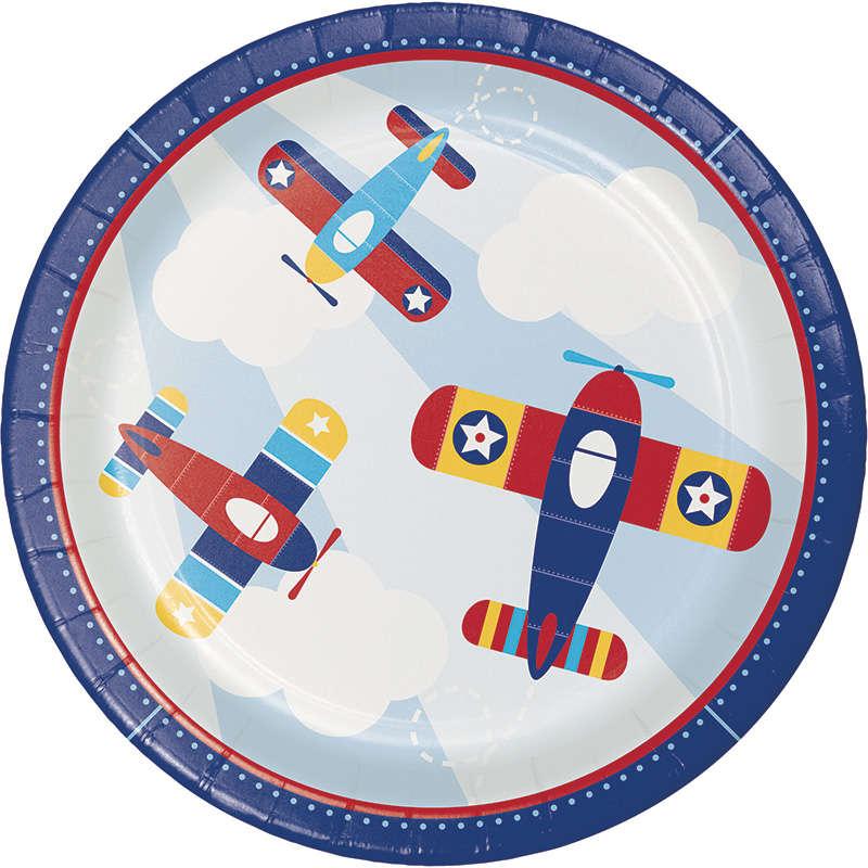 Uçaklar Partisi 8 li Tabak