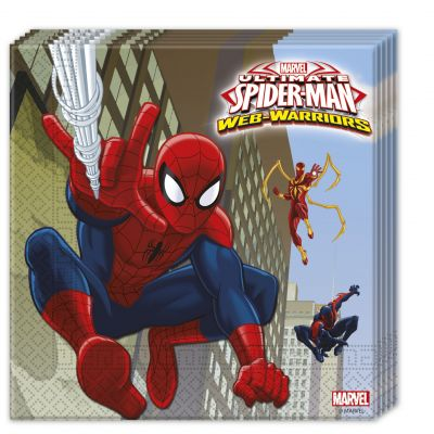 Procos - Ultimate Spiderman 20 li Peçete