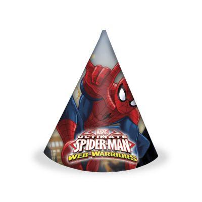 - Ultimate Spiderman 6 lı Şapka
