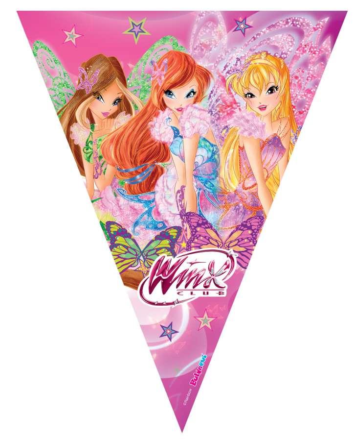 Winx Butterflix Bayrak Afiş