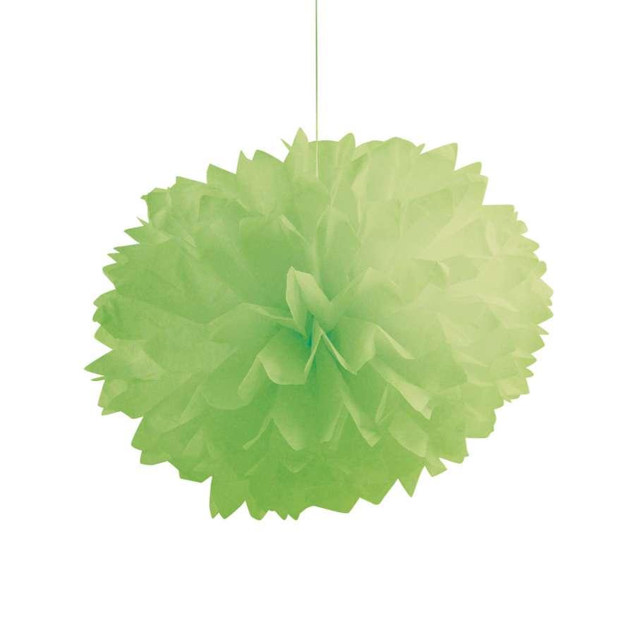 Yeşil Ponpon Çiçekler 1 Adet