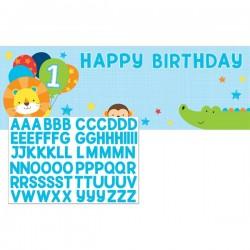 - 1 Olmak Eğlenceli İsim Yazılabilen Dev Afiş