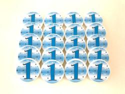 Parti Dünyası - 1 Yaş Partisi 20 li Mavi Sabun