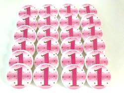 Parti Dünyası - 1 Yaş Partisi 20 li Pembe Sabun