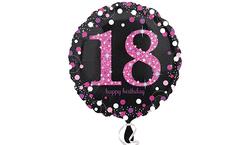 Parti Dünyası - 18 Yaş Folyo Balon 46 cm