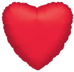 Parti Dünyası - Kırmızı Kalp JUMBO Boy Folyo Balon 60 cm