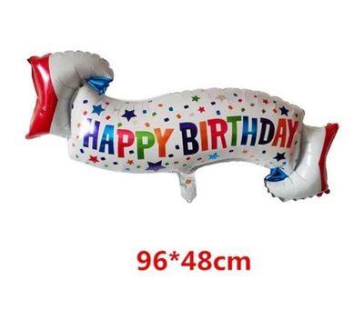 3 lü Happy Birthday Folyo Balon