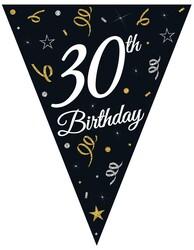 Parti Dünyası - 30 Yaş Bayrak Afiş 3,20 metre