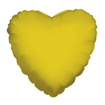 Altın Kalp Folyo Balon 45 cm