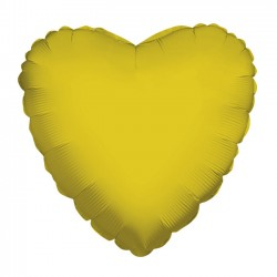 Parti Dünyası - Altın Kalp Folyo Balon 45 cm