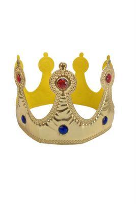 Altın Kumaş Kral Tacı
