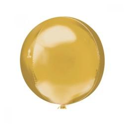 Parti Dünyası - Altın Renk Küre Şeklinde Jumbo Boy Folyo Balon
