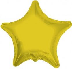 Parti Dünyası - Altın Yıldız 18 İnç Folyo Balon