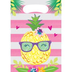 - Ananas, Flamingo ve Arkadaşları Hediye Poşeti 8 Adet
