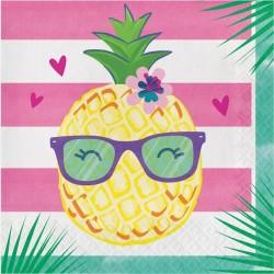 - Ananas, Flamingo ve Arkadaşları 16 lı Peçete / Ananas