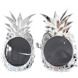 Parti Dünyası - Ananas Havai Parti Gözlüğü Gümüş Renk