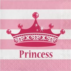 Parti Dünyası - Prenses Tacı Peçete 16 Adet