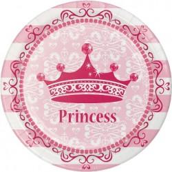 Parti Dünyası - Prenses Tabak 8 Adet