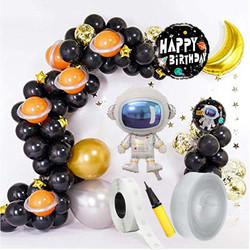 Parti Dünyası - Astronot ve Uzay Zİncir Balon Yapım Seti