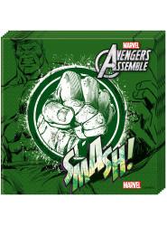 Parti Dünyası - Avengers Hulk Kağıt Peçete 20 Adet