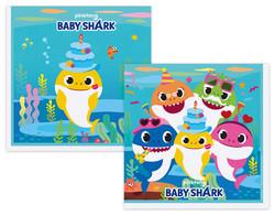 Parti Dünyası - Baby Shark Partisi Paçete 16 Lı Paket