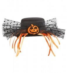 - Balkabaklı Mini Şapka