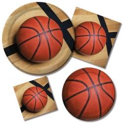 Parti Dünyası - Basketbol Partisi 24 Kişilik Parti Seti