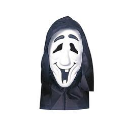 Parti Dünyası - Başlıklı Neon Beyaz Renk Hayalet Maskesi