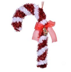 Parti - Baston Şeker Çam Ağacı Süsü 18 cm