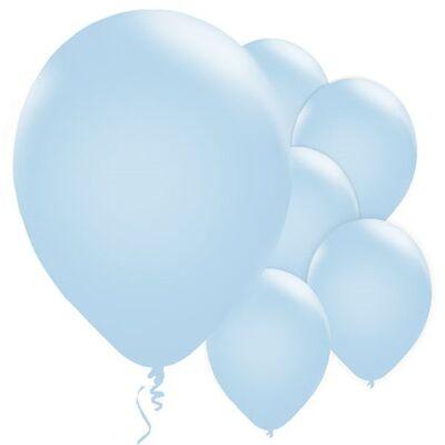 Bebek Mavisi Balon 10 Adet