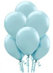 Parti Dünyası - Bebek Mavisi 100 Lü Latex Balon