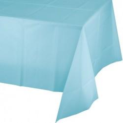 Parti Dünyası - Bebek Mavisi Masa Örtüsü 274 cm X 137 cm ebadında