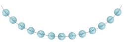 Parti Dünyası - Bebek Mavisi Mini Toplar Garlent 275 cm