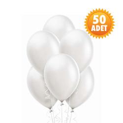 Parti Dünyası - Beyaz 50 Li Latex Balon