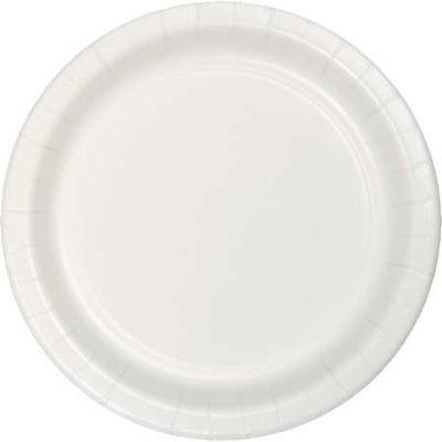 Beyaz 8 li Kağıt Tabak