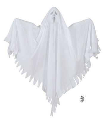 Beyaz Hayalet 45 cm Asma Dekor Süs