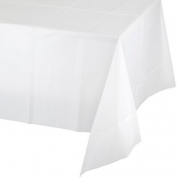 Converting - Beyaz Masa Örtüsü 274 cm X 137 cm ebadında