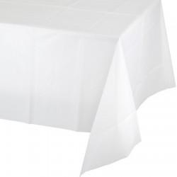 Parti Dünyası - Beyaz Masa Örtüsü 274 cm X 137 cm ebadında