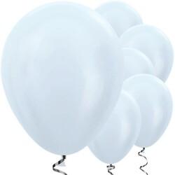 Parti Dünyası - Beyaz Metalik 10 lu Latex Balon