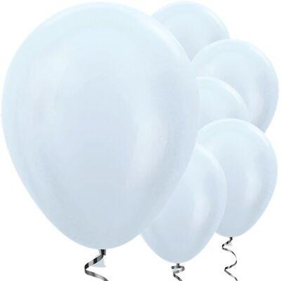 Beyaz Metalik 10 lu Latex Balon