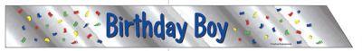 Birthday Boy Vücut Bandı
