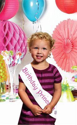 Birthday Princess Vücut Bandı