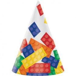 Parti Dünyası - Block Parti 8 Li Şapka