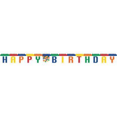 - Block Partisi Happy Birthday Harf Afiş