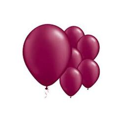 Parti Dünyası - Bordo Renk 10 Adet Balon