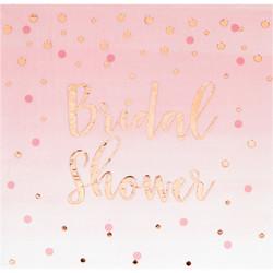 Parti Dünyası - Bridal Shower Sedefli Peçete 16 Adet
