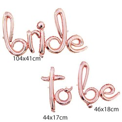 Parti - Bride to be Rose Gold Harf Folyo Balon